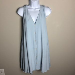 Aritzia Wilfred Light Blue Dress Size XS